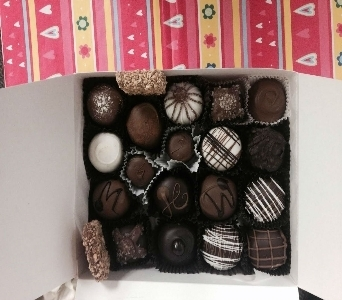 20 piece chocolate box in Sitka AK, Bev's Flowers & Gifts