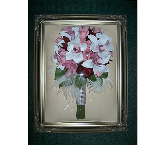 12x16 Domed Frame in Middletown DE, Forget Me Not Florist & Flower Preservation