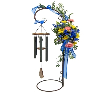 Graceful Chime in Fort Wayne IN, Broadview Florists & Greenhouses