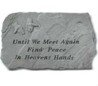 Until We Meet- Stepping Stone in Perrysburg & Toledo OH - Ann Arbor MI OH, Ken's Flower Shops