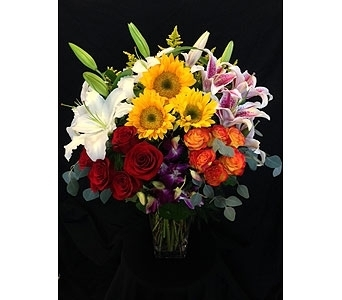 Andrew's Carousel of Color in Dallas TX, Z's Florist