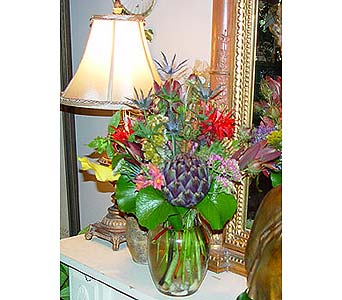 English Arrangement in Chattanooga TN, Flowers By Gil & Curt