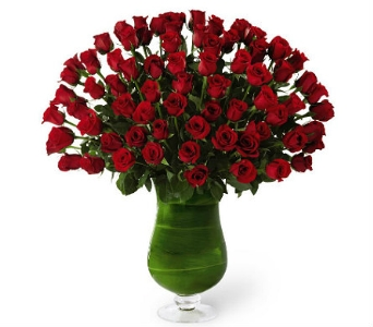 Attraction Luxury Rose Bouquet in Waterbury CT, The Orchid Florist