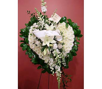 White Heart Remembered in Nashville TN, Flowers By Louis Hody