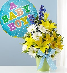 Little Boy Blue Bouquet in Camp Hill and Harrisburg PA, Pealer's Flowers