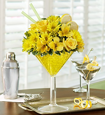 Lemon Martini Bouquet in Camp Hill and Harrisburg PA, Pealer's Flowers