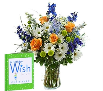 A Birthday Wish Bouquet in Birmingham AL, Norton's Florist