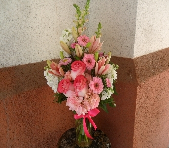 Poppin Pink in Henderson NV, Beautiful Bouquet Florist