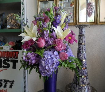 Purple Zest in Henderson NV, Beautiful Bouquet Florist