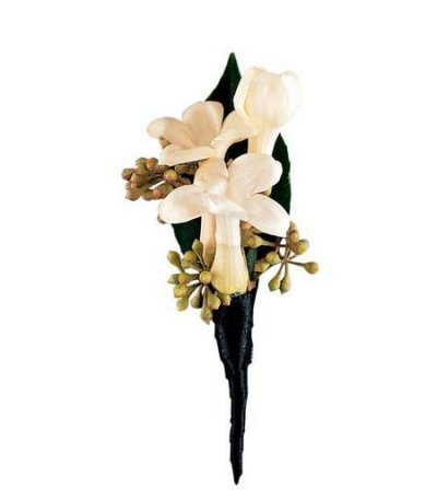 Stephanotis Boutonniere in Camp Hill and Harrisburg PA, Pealer's Flowers