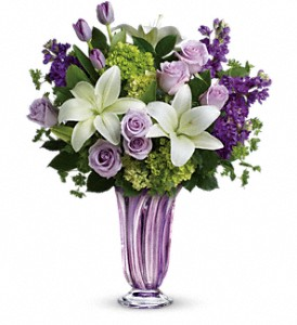 Teleflora's Royal Treasure Bouquet in Bayonne NJ, Blooms For You Floral Boutique