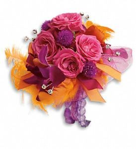 Dance 'til Dawn Corsage in Marlboro NJ, Little Shop of Flowers