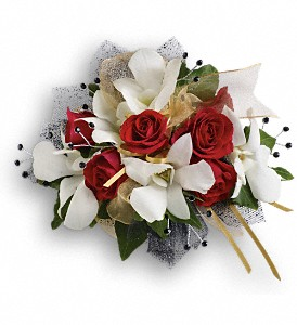 Star Studded Corsage in Warsaw KY, Ribbons & Roses Flowers & Gifts