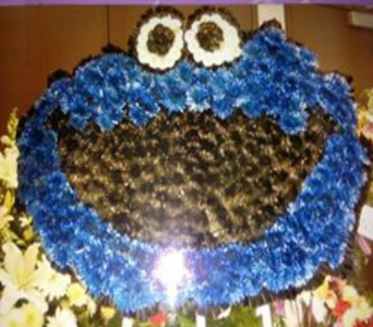 Solid Cookie Monster in Frankfort IL, The Flower Cottage