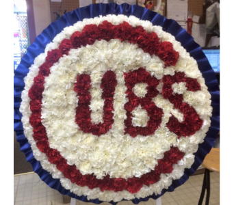Solid Cubs Tribute in Frankfort IL, The Flower Cottage