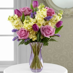 Touch of Spring Bouquet in Lemont IL, Royal Petals
