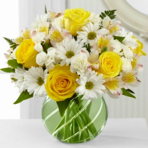 Blooms of Sunlight Bouquet in Lemont IL, Royal Petals