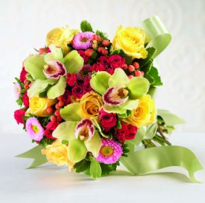Bright Promise Bouquet in Camp Hill and Harrisburg PA, Pealer's Flowers