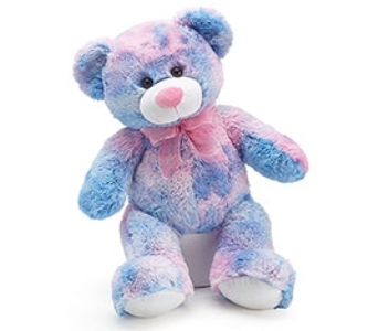 Multicolored Teddy Bear  in Princeton, Plainsboro, & Trenton NJ, Monday Morning Flower and Balloon Co.