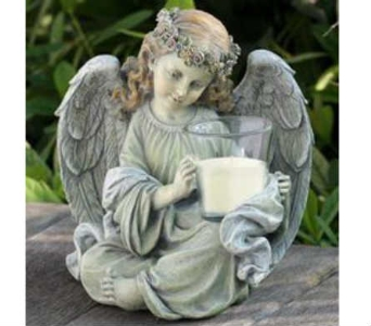 Votive Angel in Warren MI, Downing's Flowers & Gifts Inc.