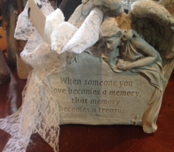 Angel Statue Love in Ambridge PA, Heritage Floral Shoppe