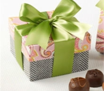 Pretty In Paisley Assorted Truffles in Manhattan KS, Westloop Floral