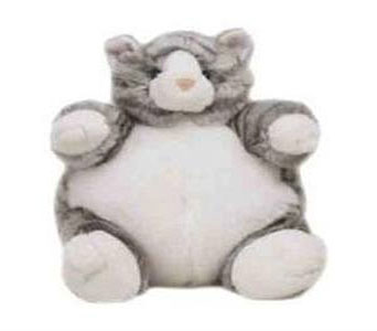 Grey Tabby Cat Plush in Princeton, Plainsboro, & Trenton NJ, Monday Morning Flower and Balloon Co.