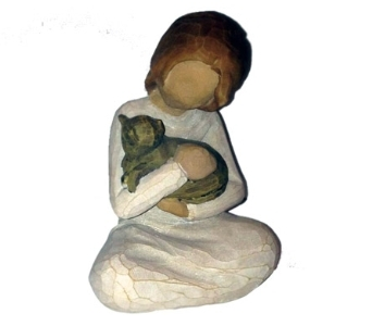 Willow Tree Kindness Girl Figurine  in Methuen MA, Martins Flowers & Gifts