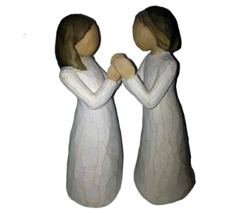 Willow Tree Sisters by Heart Figurine in Methuen MA, Martins Flowers & Gifts