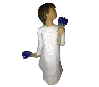 Willow Tree Lavender Grace Figurine in Methuen MA, Martins Flowers & Gifts