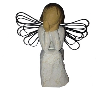 Willow Tree Angel of Caring Figurine in Methuen MA, Martins Flowers & Gifts
