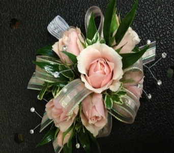 Prom Corsage- Pink Sweetheart Roses in Newton NC, Newton Florist