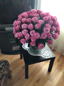 100 Roses Bouquet  in Lemont IL, Royal Petals