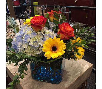 Watercolor in Princeton, Plainsboro, & Trenton NJ, Monday Morning Flower and Balloon Co.