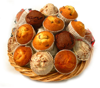 Large Delicious Muffins in Baltimore MD, Raimondi's Flowers & Fruit Baskets