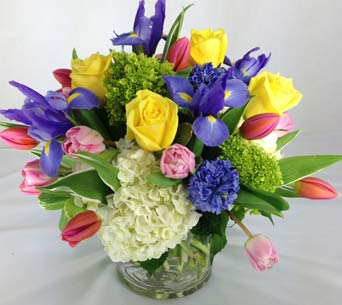 BURST OF SPRING by Rubrums in Ossining NY, Rubrums Florist Ltd.