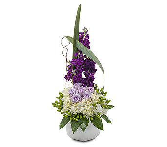 Lush and Lavender in Spartanburg SC, A-Arrangement Florist