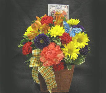 Grown with Love Bouquet in Kennewick WA, Heritage Home Accents & Floral
