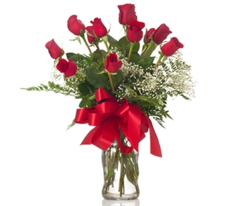 Lilies And Roses Florist In Kent Flower Delivery A Dozen Red Are Always Perfect Savored