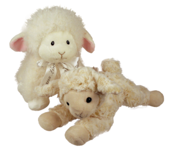 Plush Lambs in Indianapolis IN, McNamara Florist