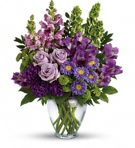 Lavender Charm Bouquet in Indio CA, Aladdin's Florist & Wedding Chapel