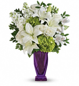 Teleflora's Moments Of Majesty Bouquet in Hartland WI, The Flower Garden