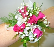 Prom Wristlet w/ Sweetheart Roses in Utica NY, Chester's Flower Shop And Greenhouses