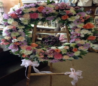 Wreath Tribute in Frankfort IL, The Flower Cottage