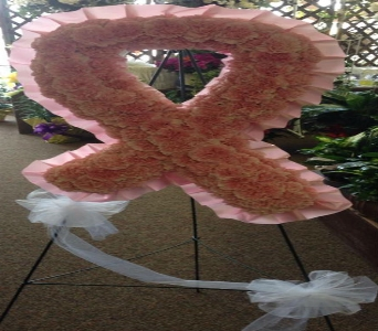 Solid Breast Cancer Ribbon in Frankfort IL, The Flower Cottage