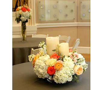 Wedding Reception in Fort Worth TX, TCU Florist