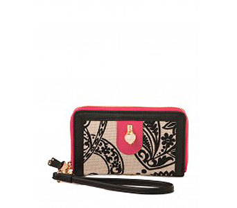 Strachan Charm Zip Phone Wallet in Detroit and St. Clair Shores MI, Conner Park Florist