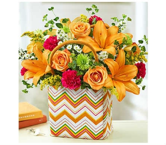 Handbag of Blooms� in Watertown CT, Agnew Florist