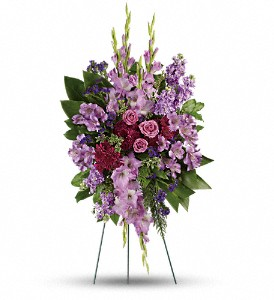 Lavender Reflections Spray in Naperville IL, Naperville Florist