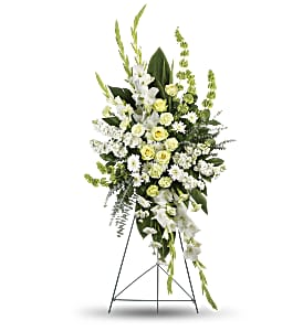 Magnificent Life Spray in Peoria Heights IL, Gregg Florist